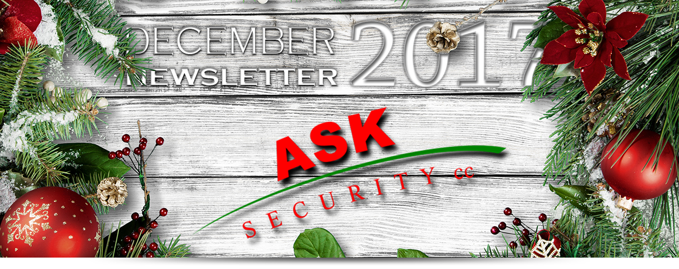 ASK Security December Newsletter 2017