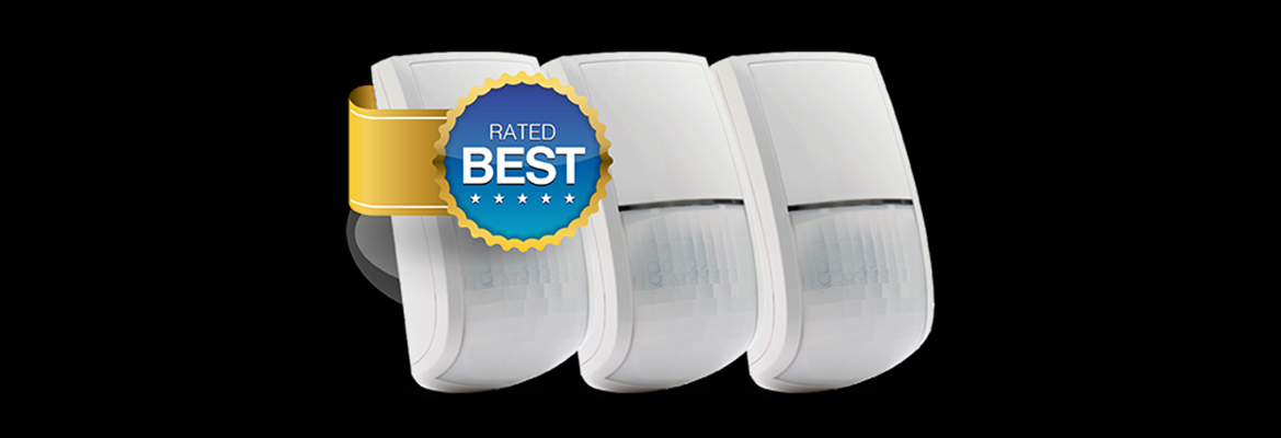 Best rated indoor detector: Risco's BWare dual technology indoor passive