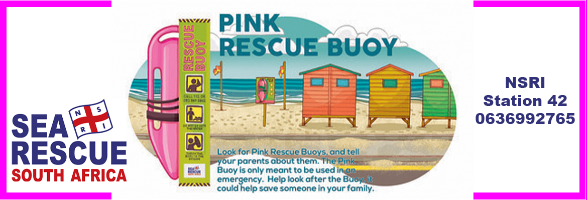 A volunteer's guide to Sea Rescue's Pink Rescue Buoys